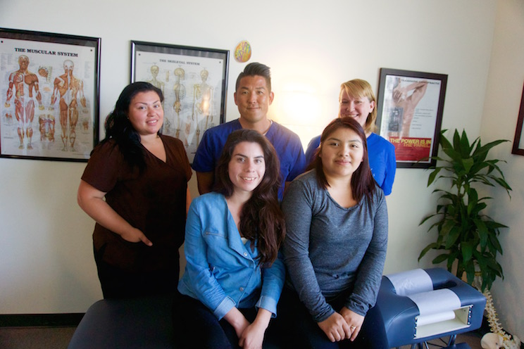 The Staff of Takahashi Chiropractic in Culver City California